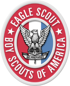Eagle Scout Rank Patch